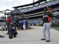 Showtime's new season of The Franchise is focusing on the Marlins. Wednesday's first episode shows new Marlin Jose Reyes in his first visit back to Citi Field.