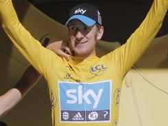 Bradley Wiggins completed the 41.5 kilometers time trial during Stage 9 in 51 minutes and 24 seconds.