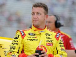 A.J. Allmendinger tested positive for a banned drug last week and was suspended temporarily by NASCAR.
