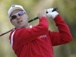Ben Crane, shown here during the first round of the U.S. Open, will head for the British Open, hoping he will get a spot in the field.
