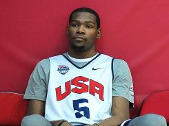 How is Kevin Durant supposed to forget about losing the NBA Finals when he has to see LeBron James every day at Team USA practice?