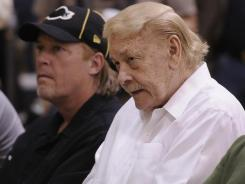 Los Angeles Lakers owner Jerry Buss is being treated at a hospital for dehydration.