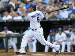 Royals third baseman Mike Moustakas, who enters the All-Star break with 15 homers and 47 RBI, was a draft-day bargain.