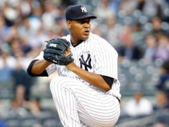 Yankees starting pitcher Ivan Nova is pitching better than his stats would indicate, making him an attractive target.