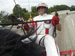 All-time harness-racing wins leader Dave Palone will drive early favorite Sweet Lou in the Meadowlands Pace Saturday night.