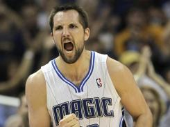 Acquired by the Hornets in a sign-and-trade deal with the Magic, Ryan Anderson set career-highs in 2011-12, averaging 16.1 points and 7.7 rebounds.