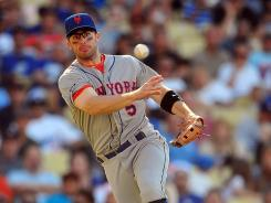 Mets third baseman David Wright hit .351 before the All-Star break.
