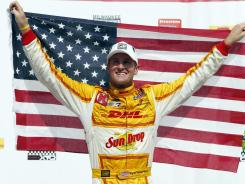 When Ryan Hunter-Reay picked up his third consecutive win last week, it pushed him into the lead of the IndyCar points standings, making him the first American since Sam Hornish Jr. in 2006 to hold down the top spot.
