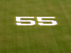 Junior Seau was remembered at Qualcomm Stadium on May 11.