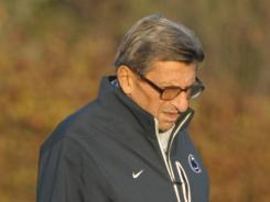 Joe Paterno died in January at 85 after winning 409 games at Penn State.