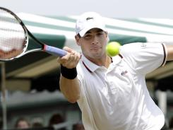 John Isner of the USA improved to 23-10 on tiebreaks, which is best on the ATP World Tour.