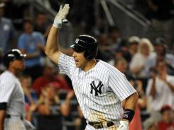Mark Teixeira is hitting .253 with 17 home runs and 59 RBI this season.