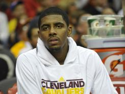 Kyrie Irving averaged 18.5 points and 5.4 assists per game last season.