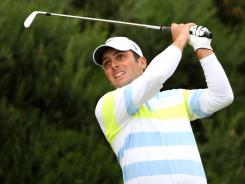 Italy's Francesco Molinari fired a a 5-under 67 on day three of the Scottish Open at the Castle Stuart Golf Links in Inverness, Scotland.