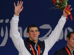 Michael Phelps, who won a record eight gold medals at the 2008 Beijing Summer Olympics, is not expected to be as dominant at this year's Olympic games in London.