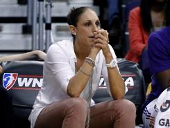 Diana Taurasi has been limited to 36 minutes in the WNBA this season, but says she is healthy and ready for her third Olympics.