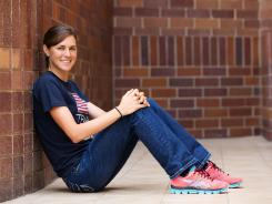 Gwen Jorgensen didn't start competing in triathlons until March 2010. She will represent the USA in the London Olympics.