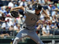 White Sox pitcher Chris Sale lowered his ERA to 2.11, which ranks second in the American League, in a 2-1 win vs. the Royals.