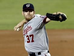 Nationals' Stephen Strasburg drove in his fifth RBI in 52 career at-bats.