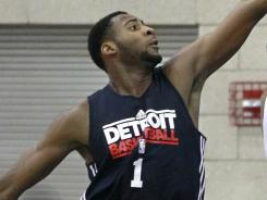 Athletic but raw, 18-year-old Andre Drummond is soaking in all he can as he learns the NBA game.