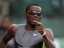 Bad trip: Hurdler Kerron Clement tweeted about his bus getting lost in London.