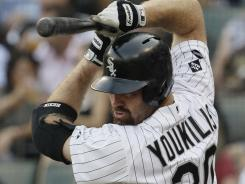 Since joining the White Sox, Kevin Youkilis was hitting .316 with 15 RBI entering Sunday.