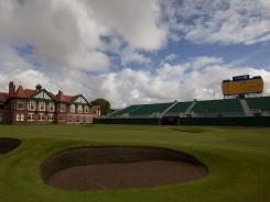 The 18th at the Royal Lytham & St Annes, this week's host of the British Open.