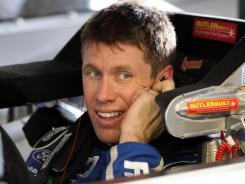 Carl Edwards could miss the Chase for the Sprint Cup after finishing second last season.