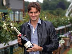 Roger Federer of Switzerland is No.1 in the ATP rankings for a record 287th week.