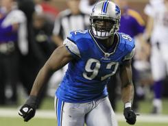 Lions DE Cliff Avril had 11 sacks in 2011.