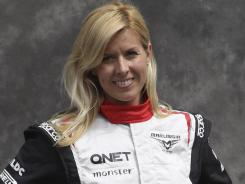 Marussia driver Maria de Villota was seriously injured after her Formula One car collided with a team support truck during a test at an airfield in southern England on July 3.