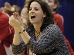 Jennifer Rizzotti has coached Hartford to six NCAA tournament berths after being point guard for UConn's first undefeated national title team in 1995.