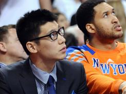New York Knicks point guard Jeremy Lin signed an offer sheet with the Houston Rockets and is waiting to see if the Knicks will match to determine his destination for 2012-13.