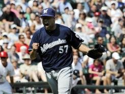 Francisco Rodriguez has pitched 41 innings this season and has a 3.67 ERA.