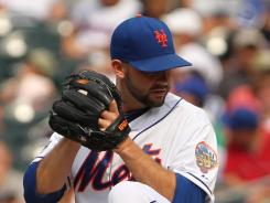 Dillon Gee, who last started July 7, is 6-7 with a 4.10 ERA for the Mets.