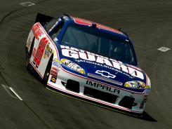 The National Guard is one of the sponsors for Dale Earnhardt Jr., the most popular driver on the Sprint Cup Series.
