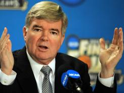 NCAA president Mark Emmert says nothing is off the table when it comes to possible action against Penn State, including the death penalty.