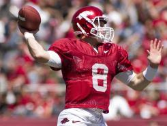 Quarterback Tyler Wilson and Arkansas enter the 2012 season with national title aspirations.