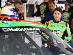 Danica Patrick will be teaming up with Dale Earnhardt Jr. for new Nationwide insurance TV commercials.