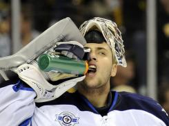 Winnipeg Jets goalie Ondrej Pavelec had an alcohol-related accident in his native Czech Republic on May 26.