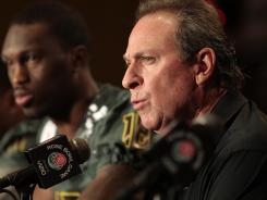 Oregon defensive coordinator Nick Aliotti's pay for 2012 will rise by at least $147,500, or nearly 42%.