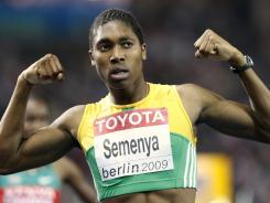 After claiming her first major international meet title in 2009, Caster Semenya was subjected to invasive and embarrassing gender tests because of her muscular build and rapid improvement in times.
