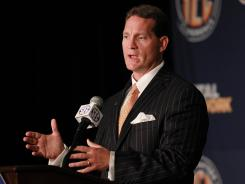 Auburn coach Gene Chizik is confident his young team can compete with powers LSU and Alabama in the SEC West. &quot;I think we're in a much stronger position as a football team than we were a year ago.&quot;