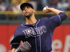 Rays manager Joe Maddon on David Price: &quot;I'd say he's in the top two or three (AL pitchers), no question.&quot;