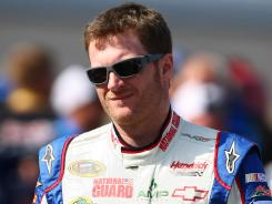 The National Guard sponsors NASCAR driver Dale Earnhardt Jr. The military will continue to fund sponsorships in professional sports, in part to engage new recruits.