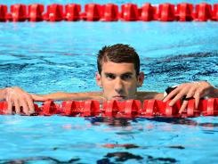 In what is likely his last Olympics, U.S. swimmer Michael Phelps is focused on leaving his mark on London.