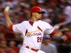 Cardinals starter Kyle Lohse won his fourth straight decision Friday night, giving him 10 on the season.