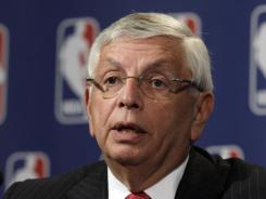 "NBA Commissioner David Stern said that under the Collective Bargaining Agreement and the implementation of revenue sharing that profitable numbers for the league are ""optimistic."""