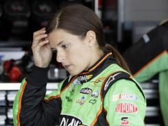 Danica Patrick turned the 13th-fastest lap in morning practice at Chicagoland Speedway for Sunday's Nationwide Series race.