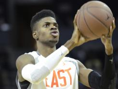 Nerlens Noel reclassified from a junior to a senior last year, allowing him to play a season early at Kentucky. With junior Andrew Wiggins already standing out, there's a chance he could reclassify as well.